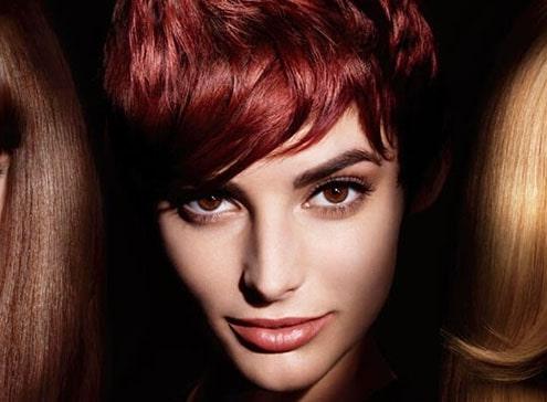 رفع قرمزی مو