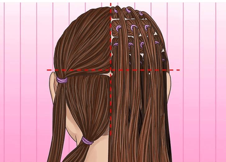 تقسیم بندی مو قبل از بافت دردلاک