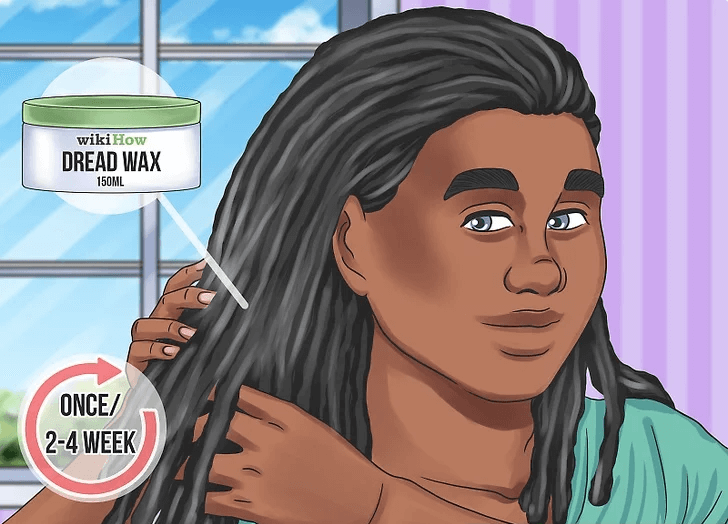 وکس کردن مو در بافت دردلاک