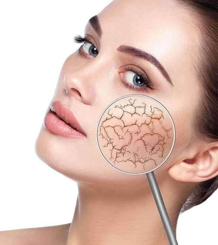 سرم پوست برای کاهش خشکی