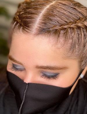 مدل بافت مو برای زیر شال