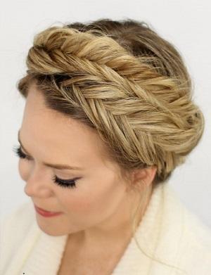 مدل های بافت مو برای زیر شال و روسری و مغنعه