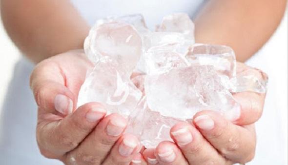 یخ درمانی برای پوست و صورت