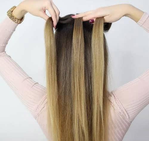 مرحله 1 بافت موی هلندی