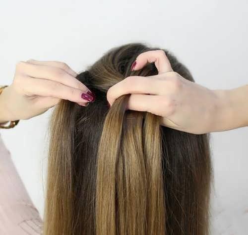 یادگیری بافت موی هلندی ساده